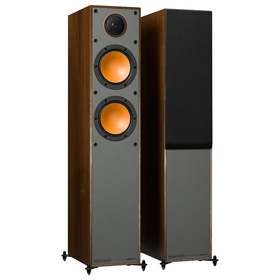Enceintes HiFi / Home-Cinéma Monitor Audio Monitor 200 (la paire) - Noyer