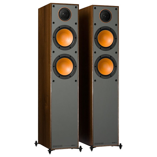Enceintes HiFi / Home-Cinéma Monitor Audio Monitor 200 (la paire) - Noyer - Autre vue