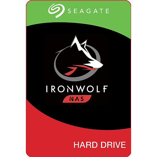 Disque dur interne Seagate IronWolf - 8 To - 256 Mo - Pack de 2