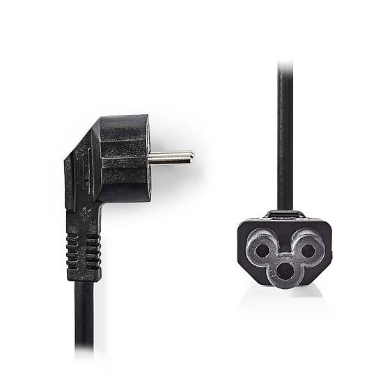 Alimentation NEDIS Câble d'alimentation noir - 2 mètres