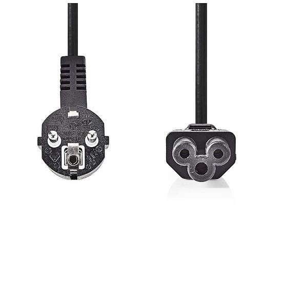 Alimentation NEDIS Câble d'alimentation noir - 2 mètres - Autre vue