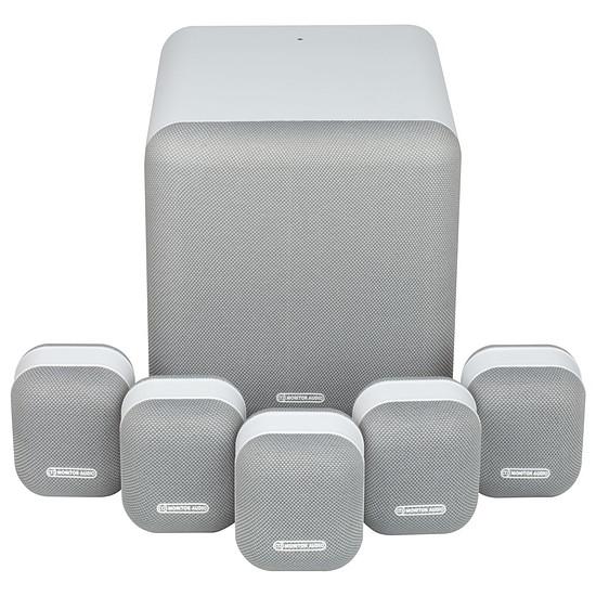 Enceintes HiFi / Home-Cinéma Monitor Audio MASS 5.1 - Blanc