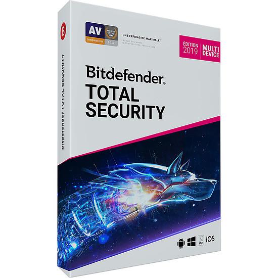Antivirus et sécurité Bitdefender Total Security 2019