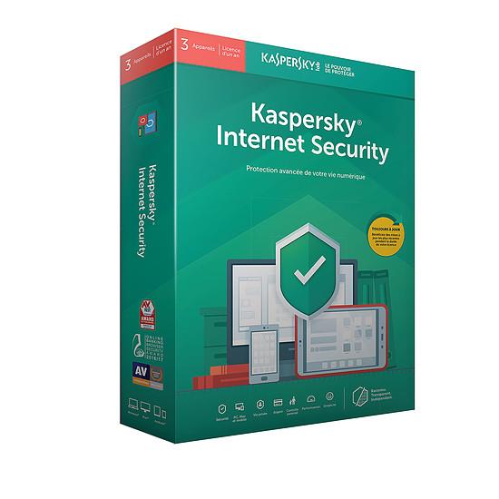 Antivirus et sécurité Kaspersky Internet Security 2019