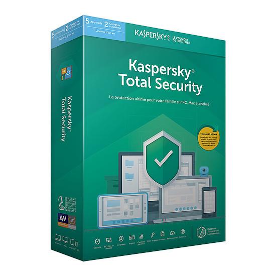 Antivirus et sécurité Kaspersky Total Security 2019