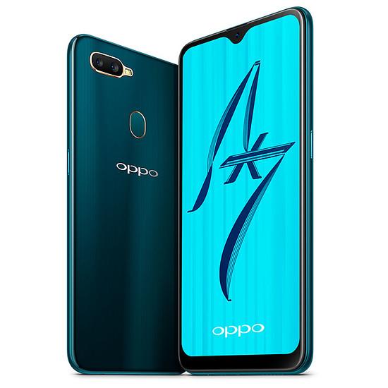 Smartphone et téléphone mobile Oppo AX7 (bleu) - 64 Go - 4 Go