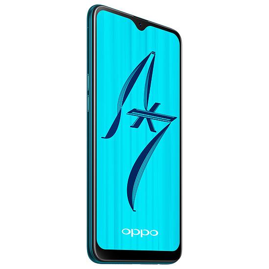 Smartphone et téléphone mobile Oppo AX7 (bleu) - 64 Go - 4 Go - Autre vue