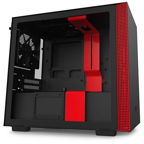 Boîtier PC NZXT H210 - Noir/Rouge
