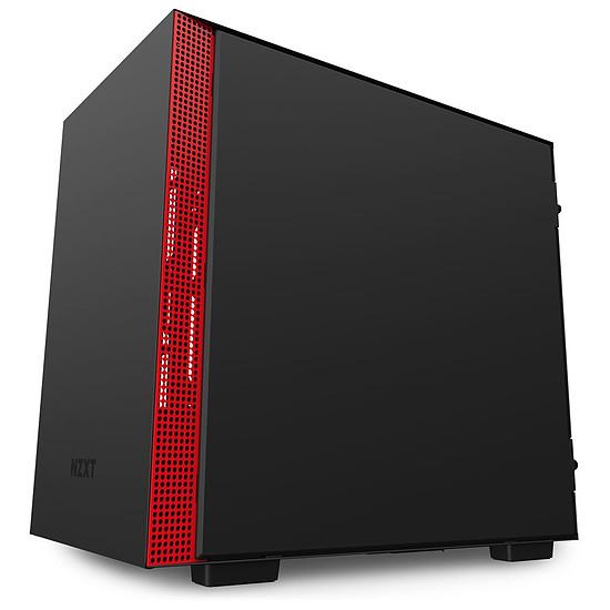 Boîtier PC NZXT H210 - Noir/Rouge - Autre vue