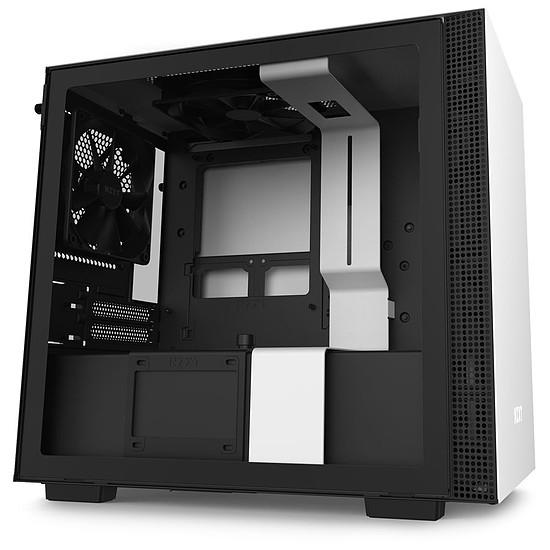 Boîtier PC NZXT H210 - Blanc/Noir