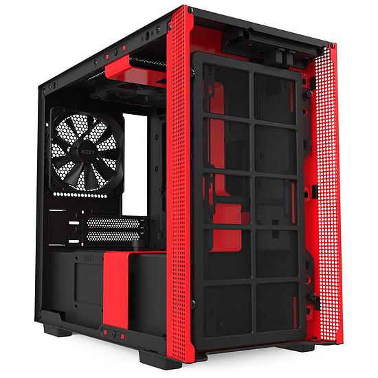Boîtier PC NZXT H210I - Noir/Rouge - Autre vue