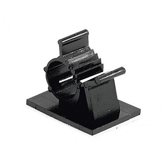 Passe câble et serre câble Serre-câble adhésif (25 mm) x10