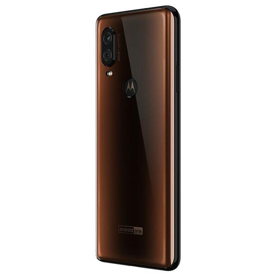 Smartphone et téléphone mobile Motorola One Vision (bronze) - 128 Go - 4 Go - Autre vue