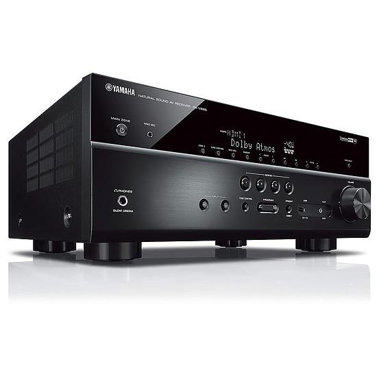 Ensemble Home-Cinéma Yamaha RX-V685 Noir + Pack 5.1 Cabasse Alcyone 2 Blanc - Autre vue