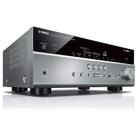 Ensemble Home-Cinéma Yamaha RX-V685 Titane + Pack 5.1 Cabasse Alcyone 2 Blanc - Autre vue