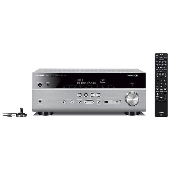 Ensemble Home-Cinéma Yamaha RX-V685 Titane + Monitor Audio MASS 5.1 Blanc - Autre vue