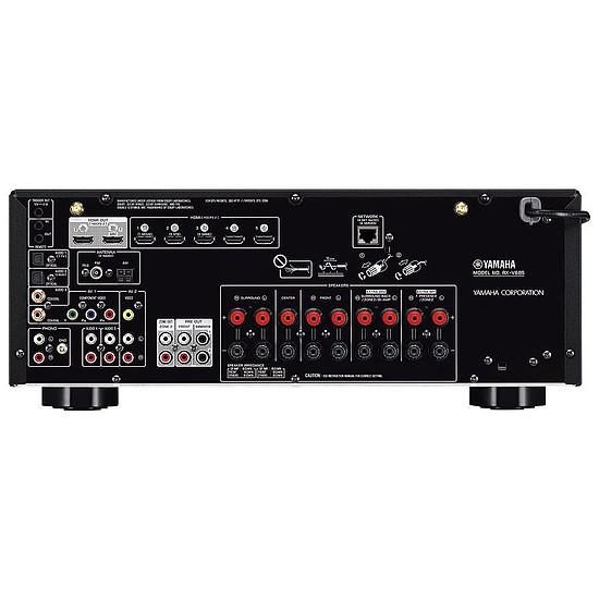 Ensemble Home-Cinéma Yamaha RX-V685 Noir + Monitor Audio MASS 5.1 Blanc - Autre vue