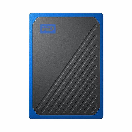 Disque dur externe Western Digital (WD) My Passport Go - 500 Go (Noir Cobalt)