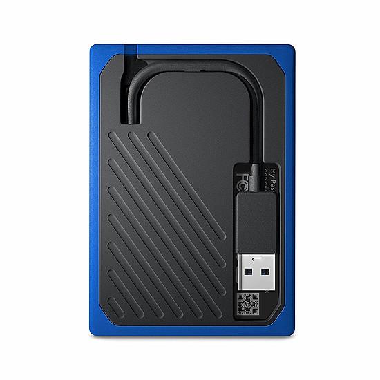 Disque dur externe Western Digital (WD) My Passport Go - 500 Go (Noir Cobalt) - Autre vue