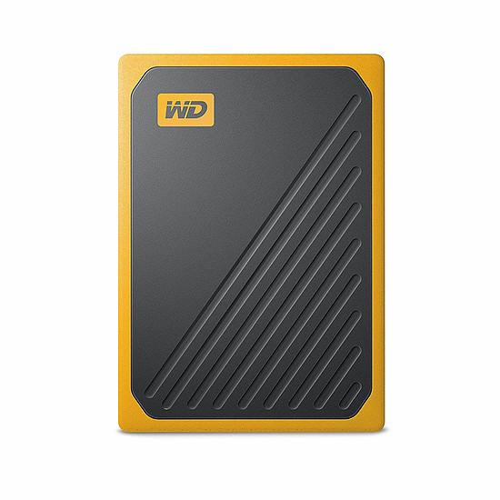 Disque dur externe Western Digital (WD) My Passport Go - 500 Go (Noir ambré)