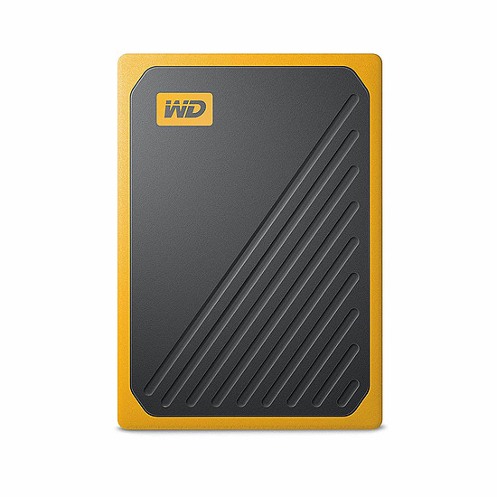 Disque dur externe Western Digital (WD) My Passport Go - 2 To (Noir ambré)
