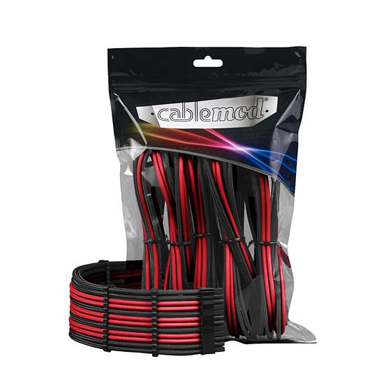 Alimentation CableMod PRO ModMesh Cable Extension Kit - NOIR / ROUGE