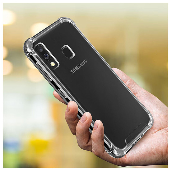 Coque et housse Akashi Coque angles renforcés (transparent) - Samsung Galaxy A40 - Autre vue