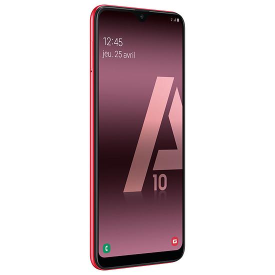 Smartphone et téléphone mobile Samsung Galaxy A10 (rouge) - 32 Go - 2 Go