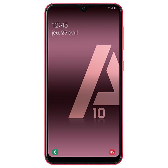 Smartphone et téléphone mobile Samsung Galaxy A10 (rouge) - 32 Go - 2 Go - Autre vue