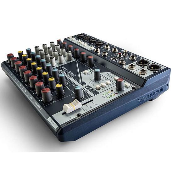 Table de mixage Soundcraft NotePad-12FX - Autre vue