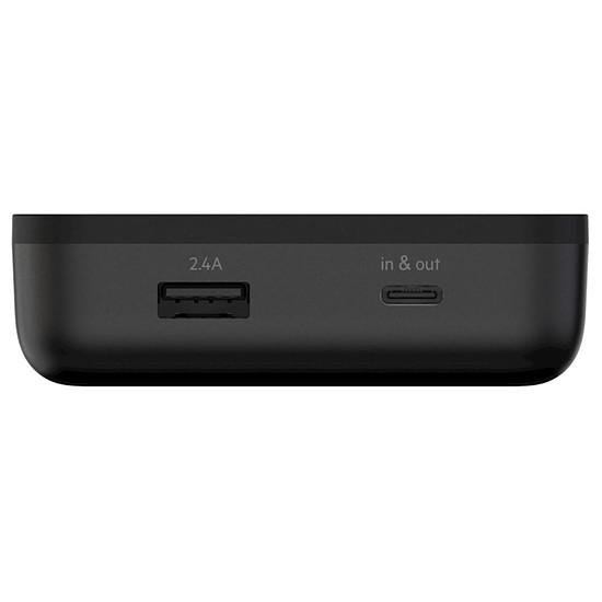 Batterie et powerbank Belkin BoostCharge 20K (noir) + câble USB TypeC - 20000 mAh - Autre vue