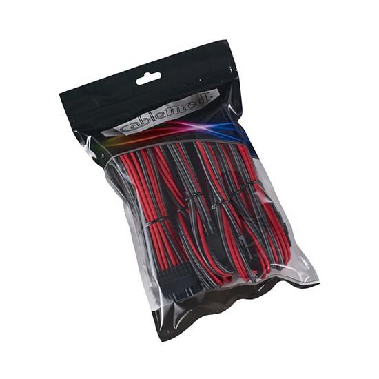 Alimentation CableMod PRO ModMesh Cable Extension Kit - CARBONE/ROUGE - Autre vue