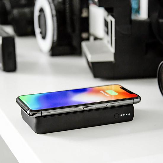 Batterie et powerbank Mophie Charge stream Powerstation wireless XL (noir) - 10000 mAh - Qi 5W - Autre vue