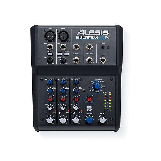 Table de mixage Alesis Multimix 4 USB FX - Autre vue