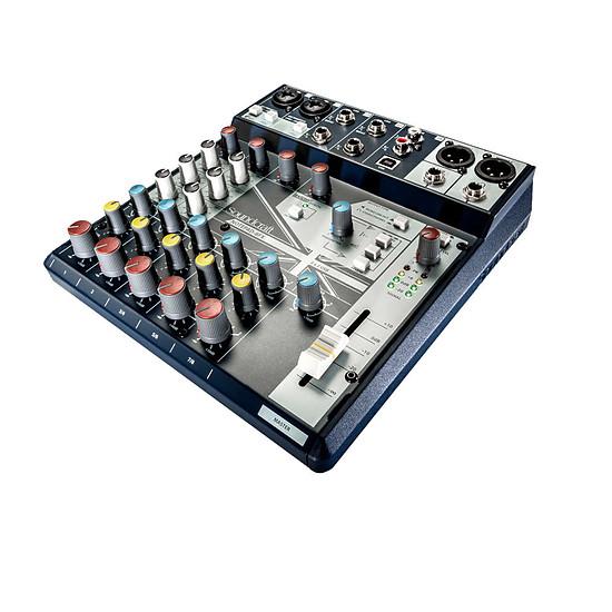 Table de mixage Soundcraft NotePad-8FX