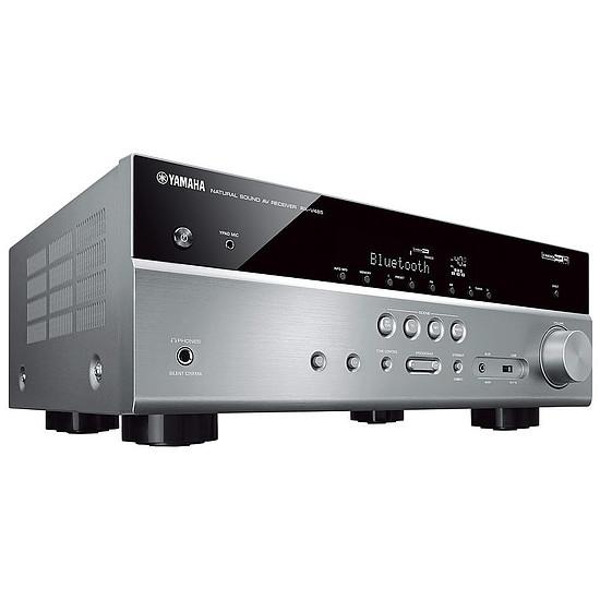 Ensemble Home-Cinéma Yamaha RX-V485 Titane + Cabasse Eole 4 Blanc - Autre vue