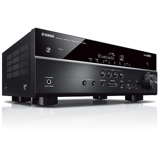 Ensemble Home-Cinéma Yamaha RX-V485 Noir + Pack 5.1 Cabasse Alcyone 2  Blanc - Autre vue