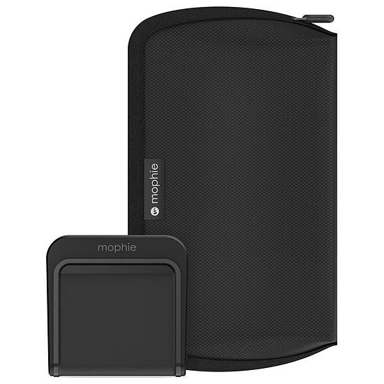 Chargeur Mophie Kit de voyage universel avec chargeur sans fil à induction Charge stream Qi 5 W (noir)
