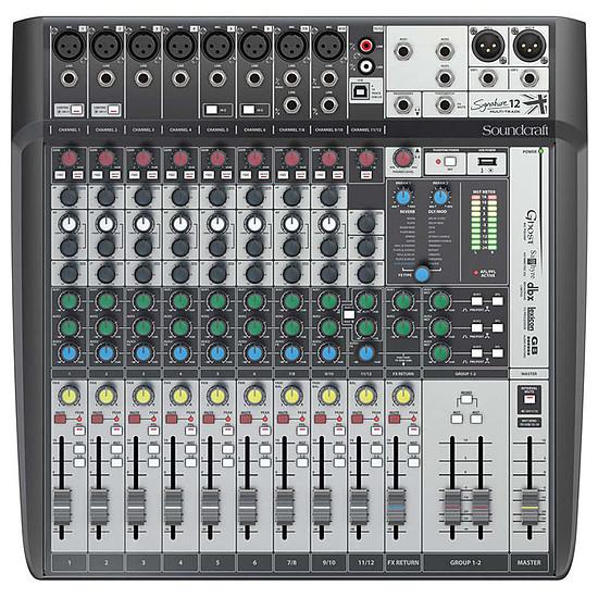 Table de mixage Soundcraft Signature 12 MTK - Autre vue