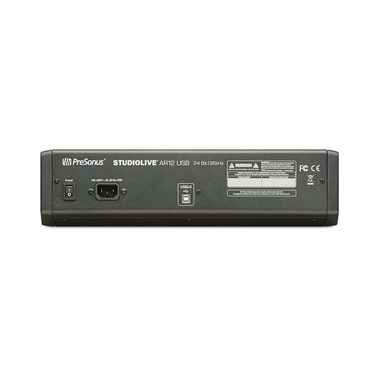 Table de mixage PreSonus StudioLive AR12 USB - Autre vue