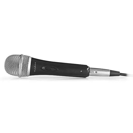 Microphone Nedis Microphone Filaire Plastique/Aluminium