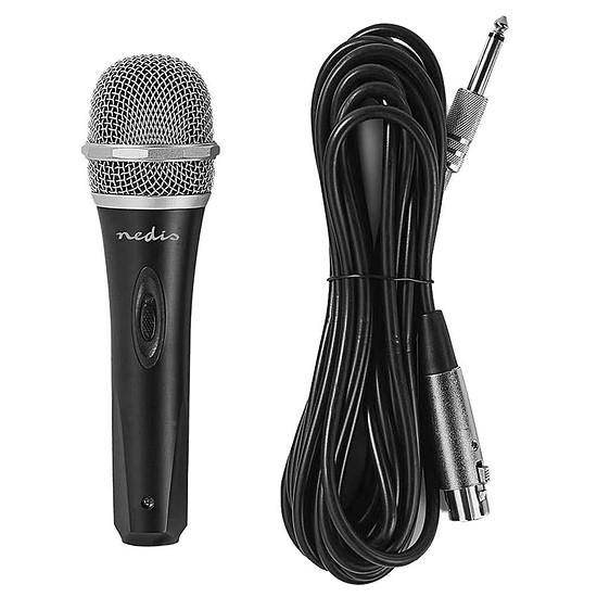 Microphone Nedis Microphone Filaire Plastique/Aluminium - Autre vue