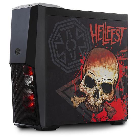 Boîtier PC Cooler Master MasterBox MB500 - Edition Hellfest 2019