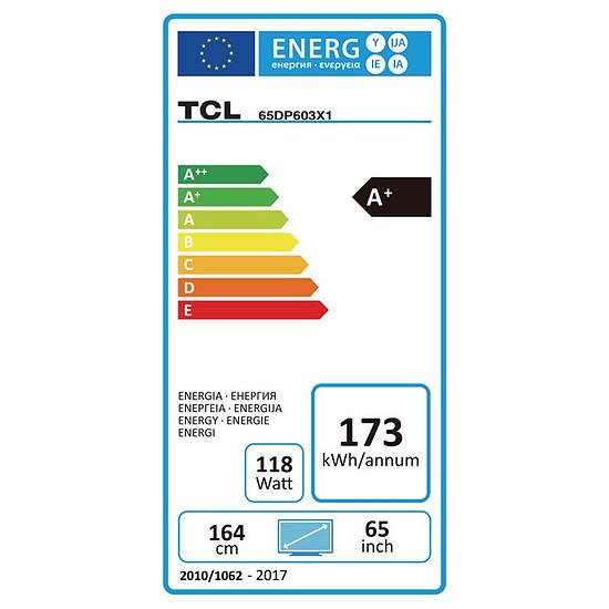 TV TCL 65DP603 TV LED UHD 4K 164 cm - Autre vue
