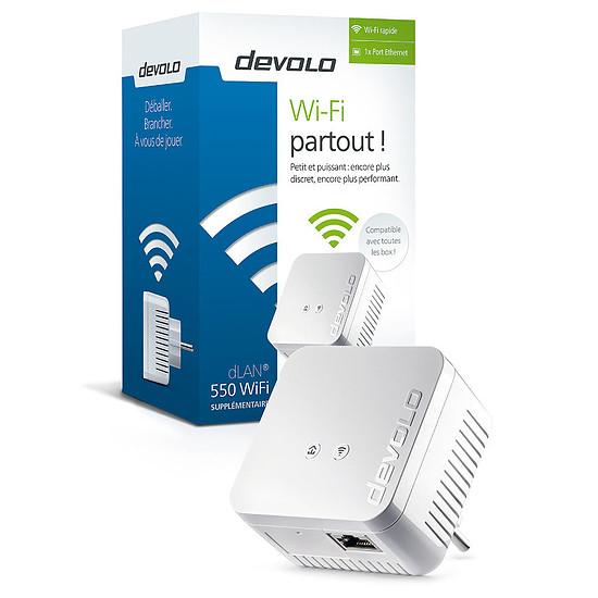 CPL Devolo Prise CPL dLAN 550 Wi-Fi