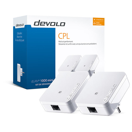 CPL Devolo dLAN 1000 mini - Starter Kit