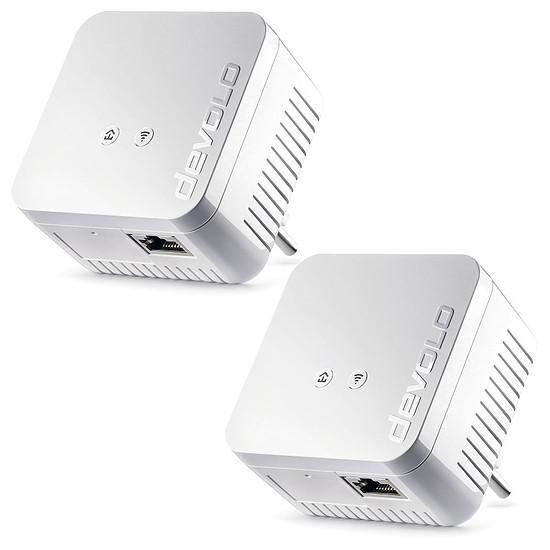 CPL Devolo Prise CPL dLAN 550 Wi-Fi - Pack de 2