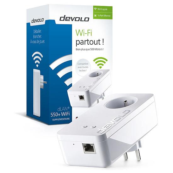 CPL Devolo Prise CPL dLAN 550+ WiFi