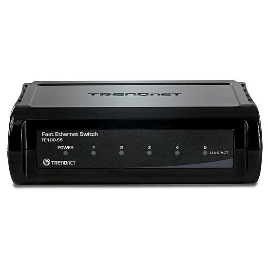Switch et Commutateur TrendNet TE100-S5 - Switch 5 ports Ethernet