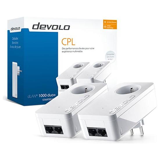 CPL Devolo dLAN 1000 duo+ - Starter Kit (8112)